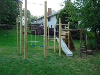 Dual Purpose Playscape For CrossFit And Kids. Backyard GymBackyard ...