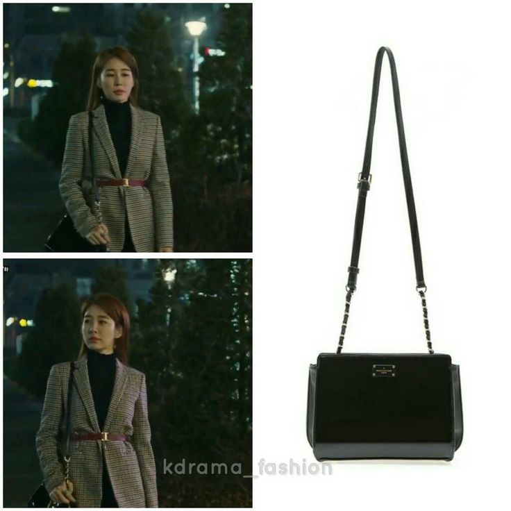 "530 lượt thích, 7 bình luận - @kdrama_fashion trên Instagram: ""Yoo In Na carried PAULS BOUTIQUE Julia Bag_Black ₩149,000 in Goblin Drama Episode 7. Photo credit…"""