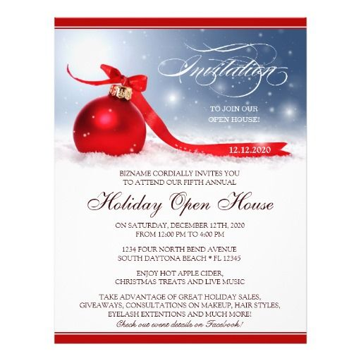 32 best Christmas And Holiday Party Flyers images on Pinterest - business event invitation