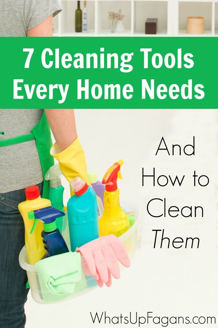 Overview of common cleaning tools most people use in their homes as well as how to properly clean and sanitize them so they'll keep it clean.: