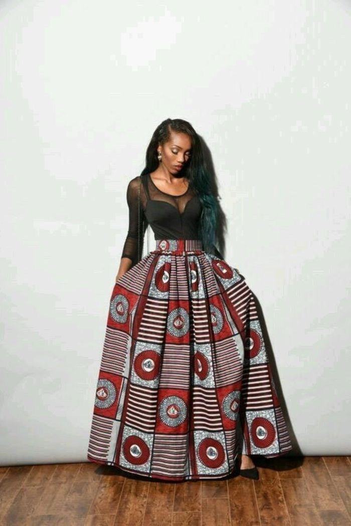 Modele de robe de soiree en wax