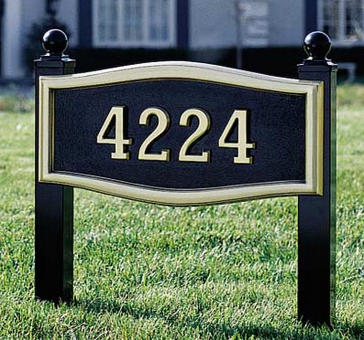 Best 25 Address Signs Ideas On Pinterest Address