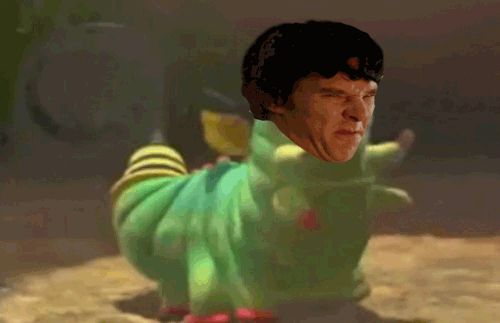 Hahahahhah.. my chest. Oh my god. Fandom.. calm down. This gif is hilarious.