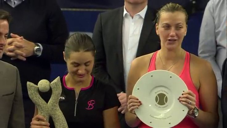 2016 Luxembourg Champion Monica Niculescu def. Finalist Petra Kvitova. 6-4, 6-0 to capture her 3rd WTA career title. In the Doubles Final, Monica & Patricia Maria Tig lost the title to Johanna Larsson & Kiki Bertens who won 4-6, 7-5, 11-9 in Luxembourg. 10/22/16