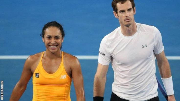 Welcome to SuppaSports's Blog.: Tennis-Hopman Cup: Andy Murray and Heather Watson ...