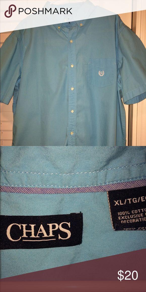 Men's button down Chaps shirt No stains or rips Chaps Shirts Dress Shirts