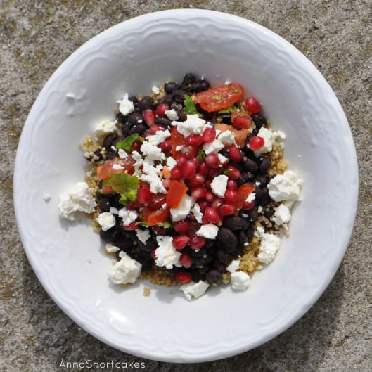 Pomegranates, Black beans and Salsa on Pinterest