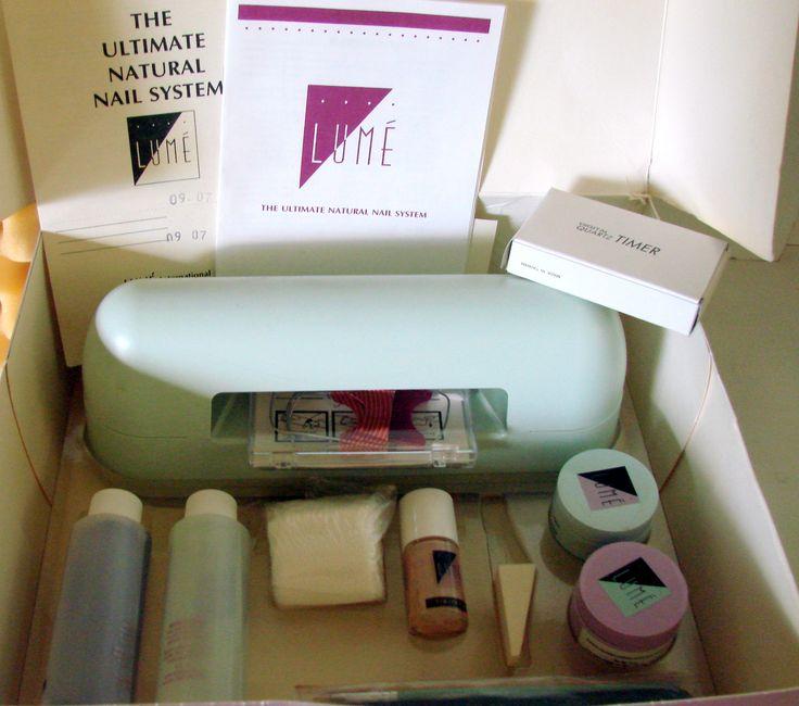 Orginal Lume The Ulimate Natural Nail System Medical