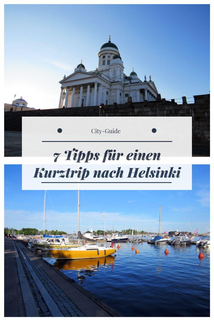 Meine 7 Tipps für einen Städtetrip in Finnlands Hauptstadt Helsinki.