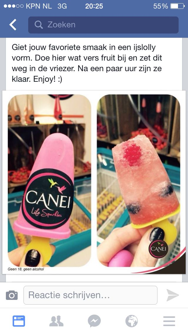 Canei/fruit ijslolly
