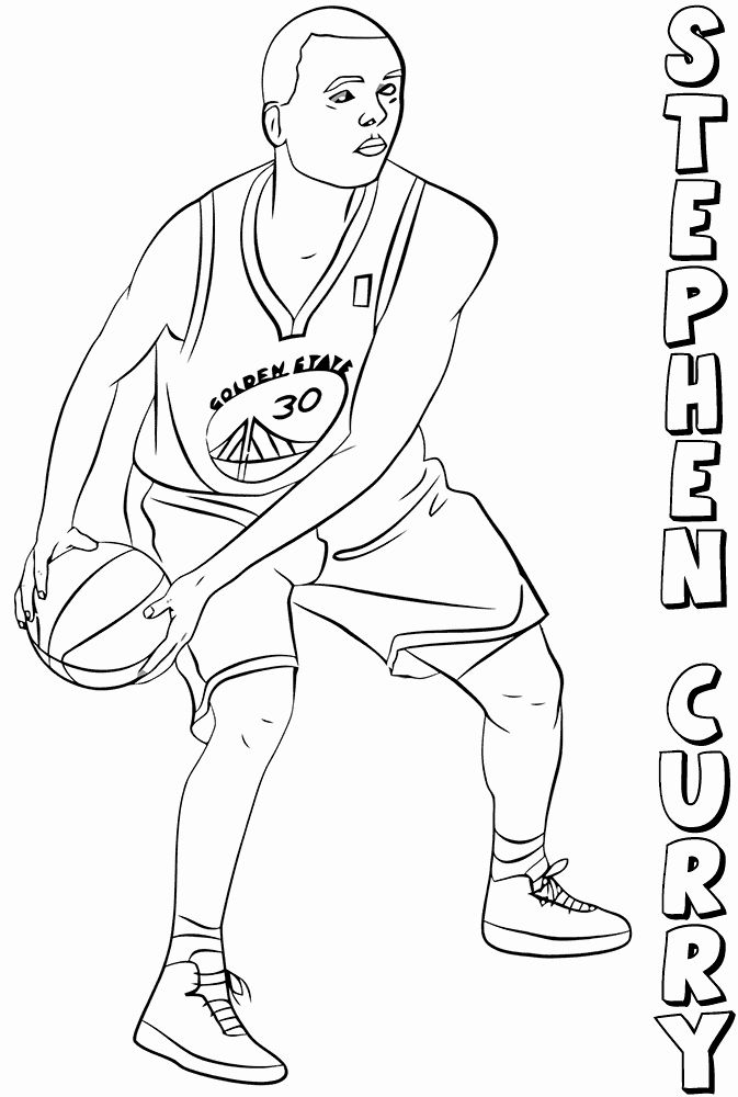 Golden State Warriors Coloring Page Best Of Free Printable Nba National Basketball Association Coloring Pag Sports Coloring Pages Coloring Books Coloring Pages