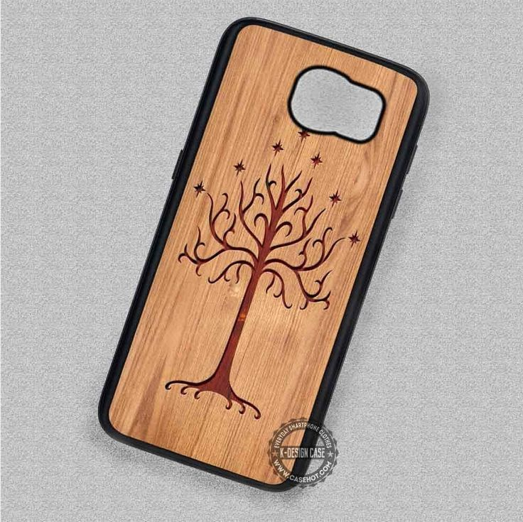 Carving Like Wood Lord of The Rings - Samsung Galaxy S7 S6 S5 Note 7 Cases & Covers