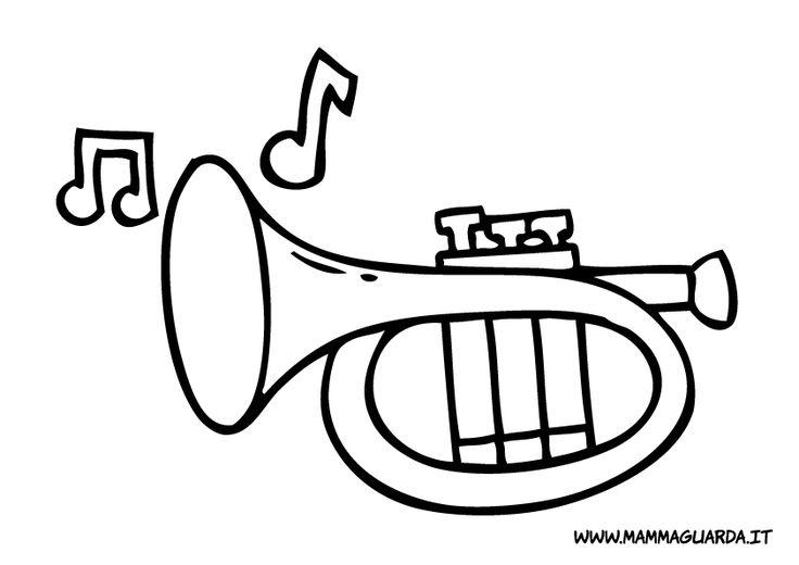 Risultati immagini per strumenti musicali disegni