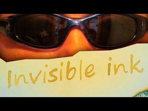 Spy games. How to Make Invisible Ink. Шпионские игры. Как сделать невидимые чернила - YouTube