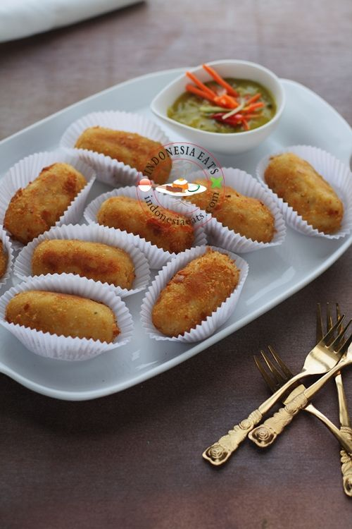 Potato Croquette Recipe (Kroket Kentang)