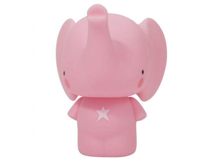 Pokladnička Slon růžový. Děti si rádi spoří korunky, dopřejte jim vlastní pokladničku :-). Slon ti přinese štěstí, a to se při spoření korunek vždy hodí :-)