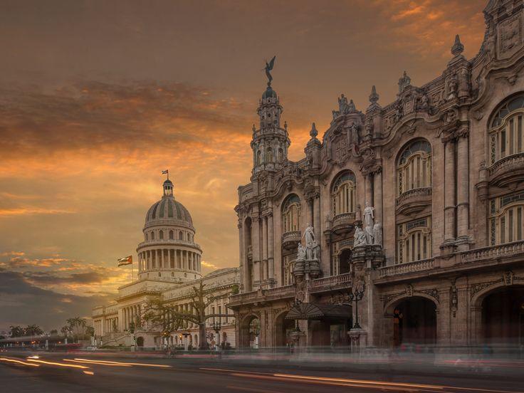 LA HAVANE Des palais coloniaux, des hôtels au charme d'antan, un parfum désuet de révolution… A Cuba, la capitale cultive avec fierté son glamour rétro.
