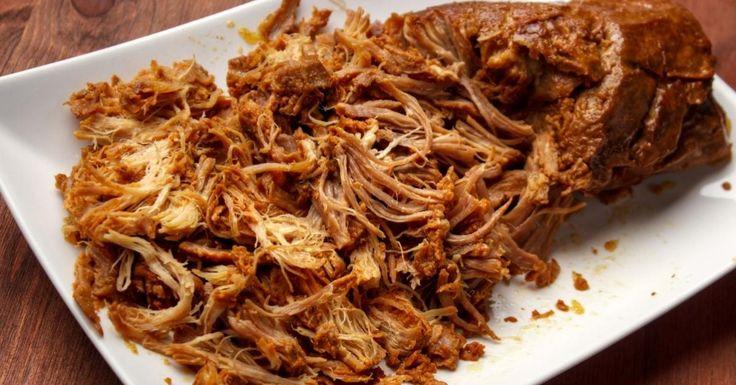 Une belle recette à la mijoteuse, un filet de porc tellement savoureux