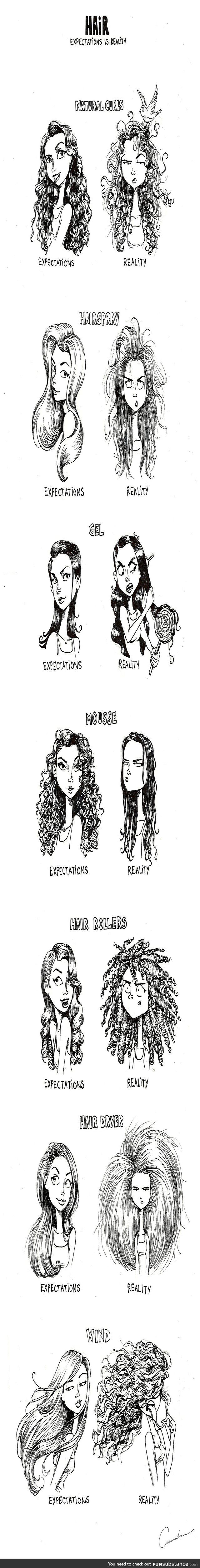 Hair: Expectations vs Reality