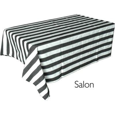 Black White Stripe Tablecloth 85 Fresh Logic 39 S 30th