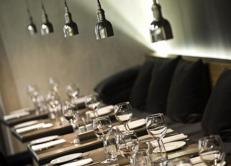 Exquisita gastronomía la que ofrece el Restaurante Novus en el Hotel Zenit Abeba, Madrid.