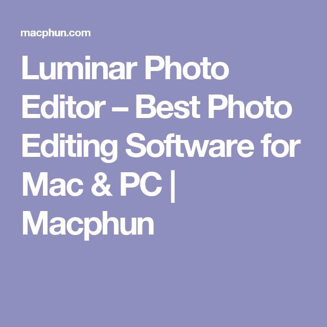 Luminar Photo Editor – Best Photo Editing Software for Mac & PC   Macphun