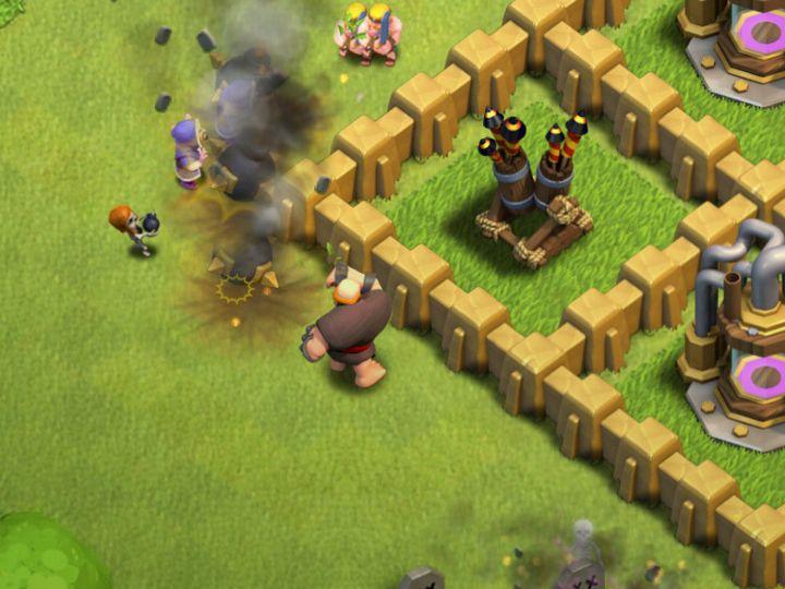 Clash of Clans Bomb