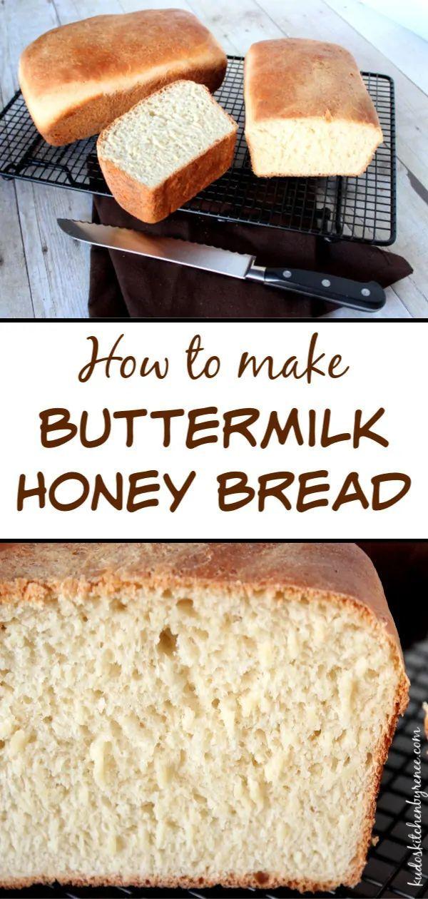 Buttermilk Honey Bread Yeast Yeastbread Homemadebread Buttermilk Buttermilkbreadrecipes Honey Honey Bread Bread Recipes Homemade Buttermilk Bread