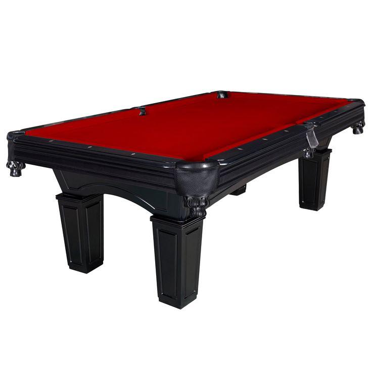 Carmelli Cobra 8-ft Slate Billiard Pool Table w/