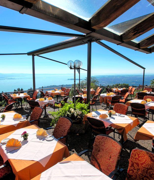 Terrasse © Hotel Schönblick