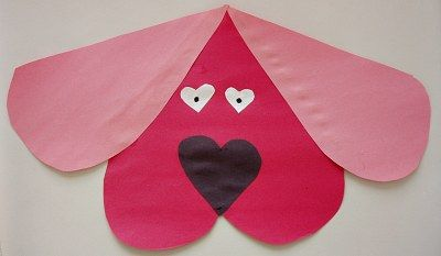 Clifford The Dog Valentine's Day Craft