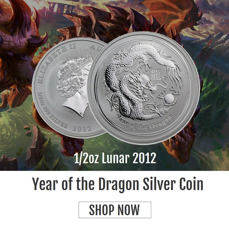 In #Chinese culture, #Dragon is a symbol of #power and wealth and brings good fortune and prosperity. Brisbane Bullion has released 1/2oz Lunar 2012 - Year of the Dragon Silver Coin made of 99.99% pure silver. Own one today from https://www.brisbanebullion.com.au/1-2-oz-lunar-2012-year-of-the-dragon-silver-coin #gold #silver #platinum #rooster #australian #lunarsilvercoin #brisbanebullion #buy #shopnow #bestprice #brisbane #queenlands #australia #shoponline #goldmintedbar #goldcoin…