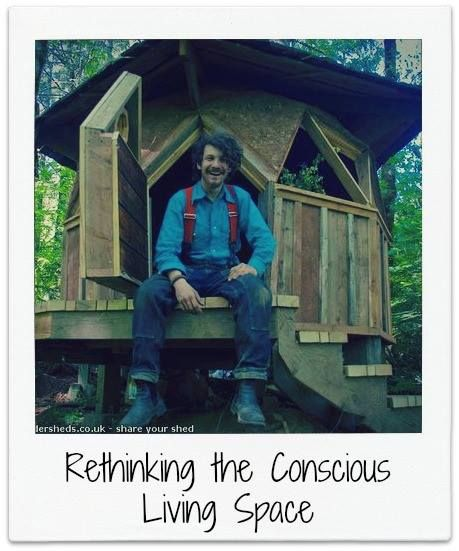 """We absolutely love this sustainable housing idea from Jeffrey the Natural Builder; it's all about """"pod living,"""" affordable construction, and really finding out what it means to get back to nature. Read about Jeffrey's amazing concept on the blog."""