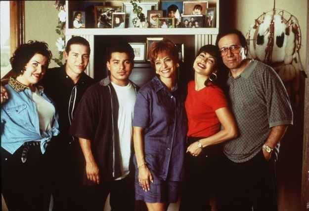 To prepare for the role, the cast spent much of their time with the Quintanilla family. Lopez actually moved in with Suzette Quintanilla in Corpus Christi, Texas.