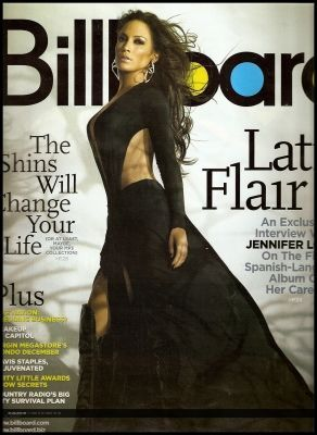 Jennifer Lopez - Billboard United States Magazine (April 2007)