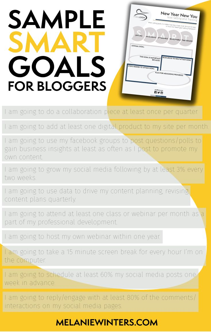 17 best ideas about smart specific measurable team at pixel loon we ve created a goal setting packet that s for you to and use for my fellow bloggers check out the list below for some
