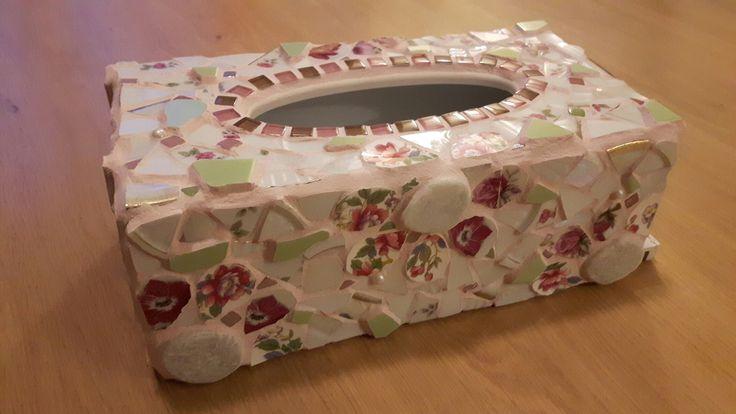 tissuebox Engelse stijl