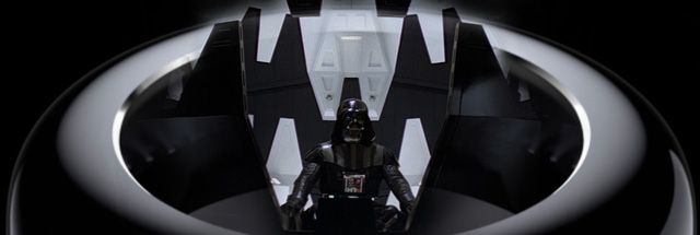 The new Mac Pro, now Darth-ified. Aurich Lawson / Lucasfilm / Apple