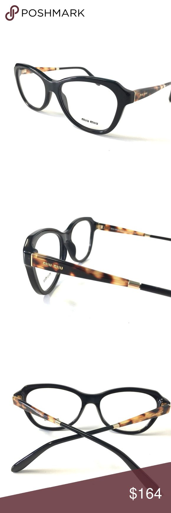 Miu Miu Women's Optical Frame Black Tortoise Miu Miu Women's Optical Frame Black Tortoise   52-16-140  New without Tags!!!!!!                               Authentic Includes Miu Miu Case    We Ship this item Same Day!!!! Miu Miu Accessories Glasses