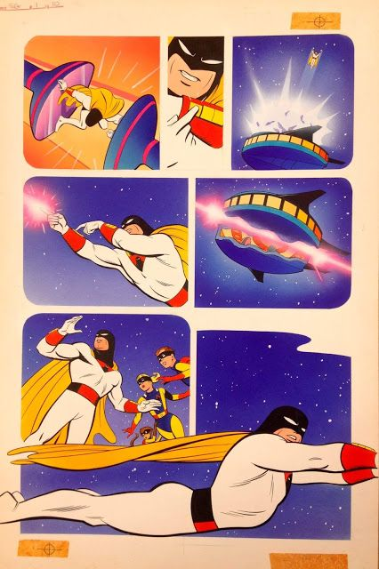 Rankin/Bass-historian: A page from my friend Steve Rude's Space Ghost fro...