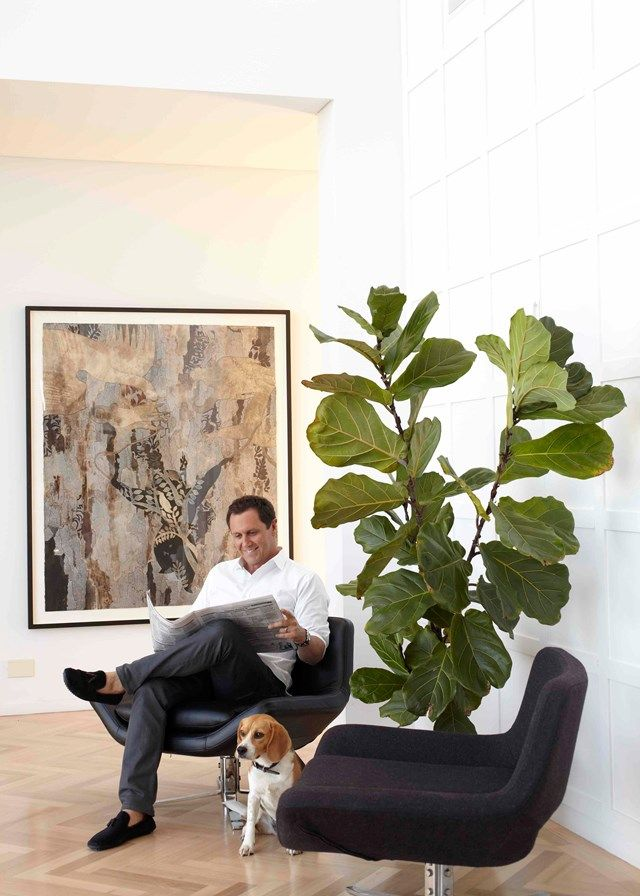 Larry Emdur and Jazzy | Home Beautiful Magazine Australia