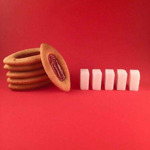 Считаем кубики: сколько сахара в различных продуктах (19 фото)