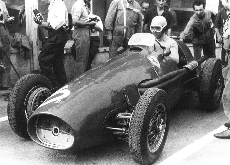 Alberto Ascari (Ferrari) Grand Prix de Belgique - Spa-Francorchamps 1953 - source F1 History & Legends.
