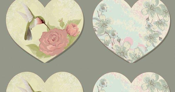 Etiquetas romanticas para imprimir , etiquetas con formas y detalles romanticos, flores delicadas, pajaros hermosos, Telefonos para mensaje...