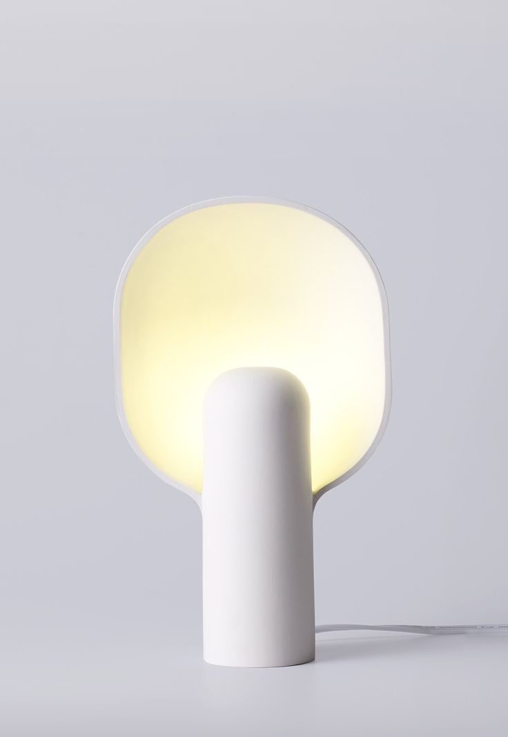 Designed by Toronto based design studio MSDS, the Ware Lamp is a one-piece slipcast light that explores the formal plasticity of stoneware.