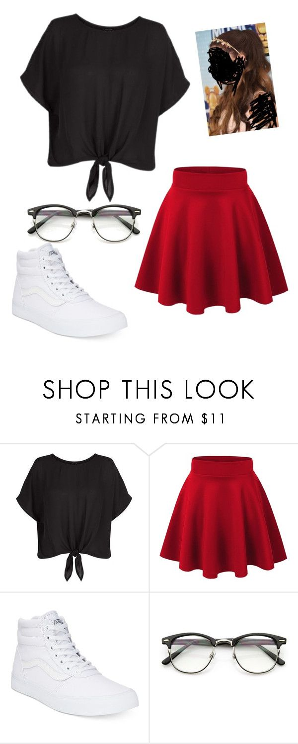 """""""Casual fun"""" by jazel117 on Polyvore featuring New Look and Vans"""
