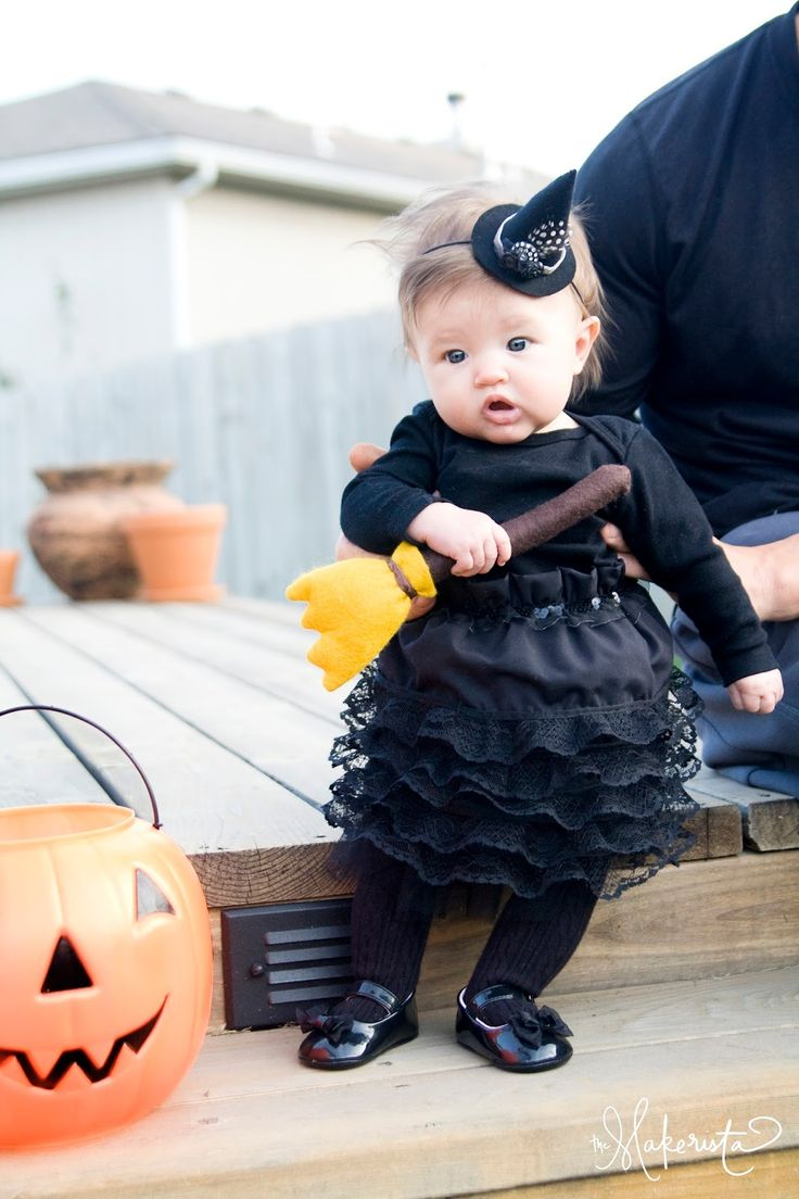 The Makerista: DIY Witch Baby Costume