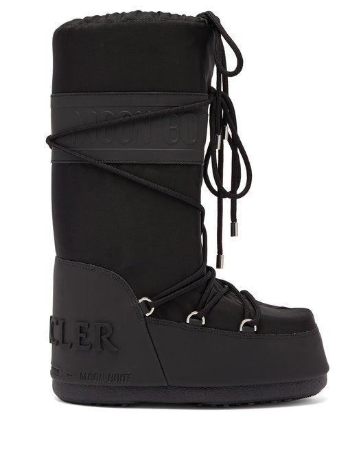 d86e10fbcf MONCLER X Moon Boot® Venus shearling aprés-ski boots.  moncler  shoes