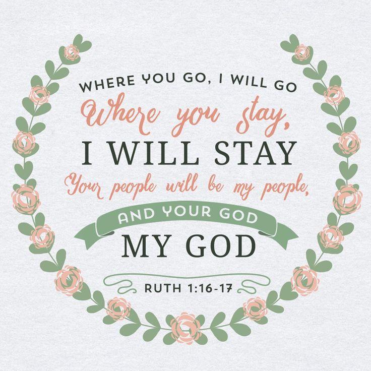 Ruth 1:16-17