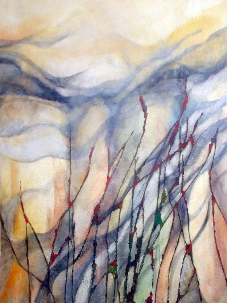"""Spighe I"" Oil on canvas - 100x70 cm"